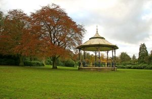 Bandstand in Lewisvale Park