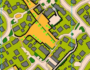 Map excerpt - west Haddington