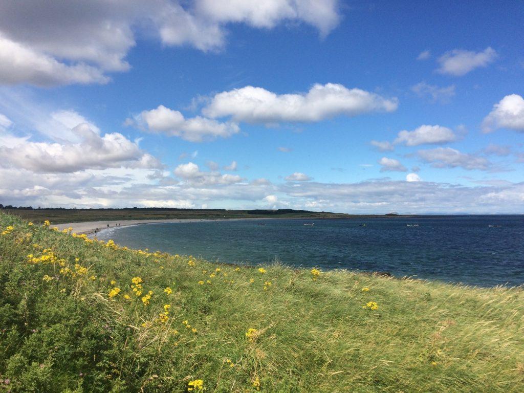 Whitesands Bay near Dunbar