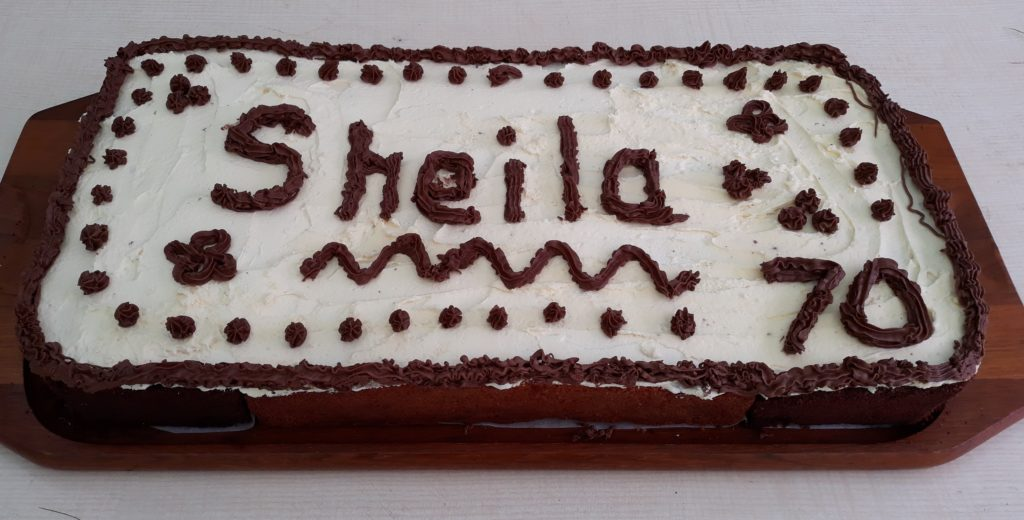 Sheila's cake